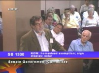 Testifying at AZ GOV committee